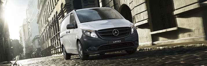 Mercedes-Benz Certified pre-owned vans